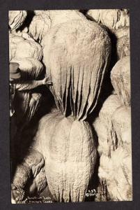 OR Paradise Lost Caves RPPC Real Photo OREGON POSTCARD