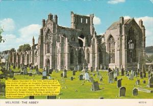 Scotland Melrose The Abbey