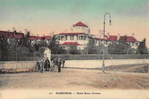 Algeciras Spain Hotel Reina Cristina Antique Postcard J77897