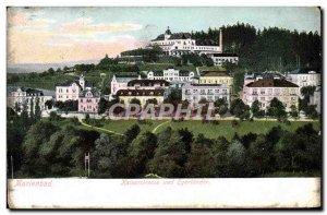 Old Postcard Marienbad Kaiseratrasse Und Egerlander