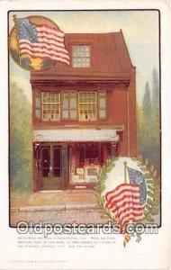 Betsy Ross House Flag Unused