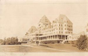 Plattsburgh New York Hotel Champlain Real Photo Antique Postcard K52461