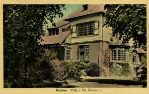 belgium, ESSCHEN, Villa De Dennen (1953) Postcard