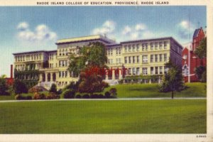 RHODE ISLAND COLLEGE OF EDUCATION, PROVIDENCE 1946
