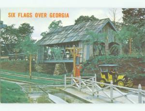 Unused Pre-1980 SIX FLAGS OVER GEORGIA Atlanta Georgia GA HQ9291@
