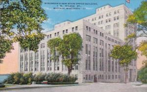 Wisconsin Madisn Wisconsins New State Office Building 1 W Wilson Street