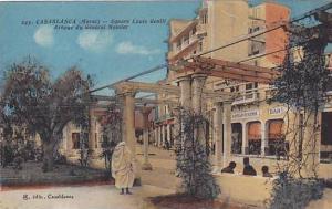 Square Louis Gentil, Avenue Du General Moinier, Casablanca, Morocco, Africa, ...