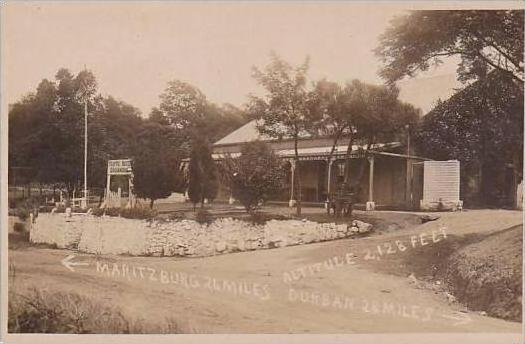 South Drummond Traffic Hotel Drummond Real Photo RPPC