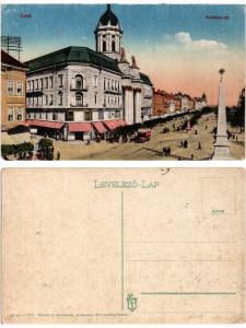 CPA ARAD Andrássy tér. ROMANIA (500798)