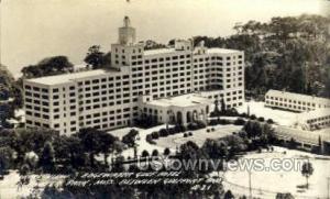 Aerial View Edgewater Gulf Hotel - Real Photo Edgewater Park MS Unused