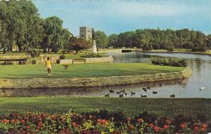 Partial view of Park at Simcoe,  Ontario,  Canada,  PU_1973