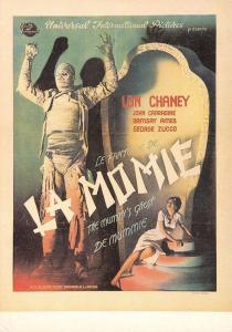 Postcard The Mummy's Ghost 1944 French Repro Film Advert Card #M