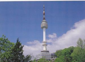 SEOUL, South Korea, 1950-1970´s; Seoul Tower on Mt. Namsan