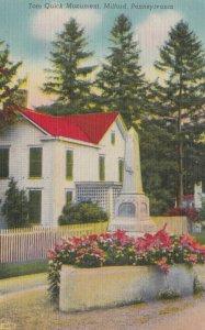 MILFORD, Pennsylvania, 1930-40s; Tom Quick Monument