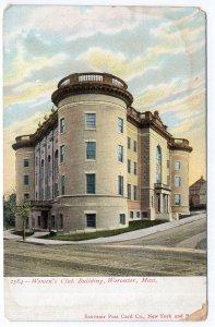 Worcester, Mass, Women's Club Building