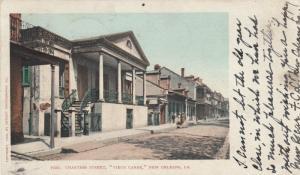 NEW ORLEANS, Louisiana, 1903 ; Chartres Street