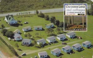 Cavendish Lodge & cottages , P.E.I. , Canada , 1960s