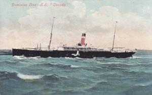 Dominion Lines Ocean Liner S.S. CANADA , 00-10s