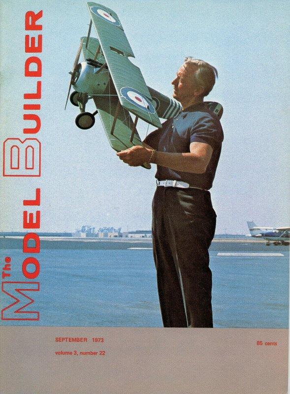Vintage The Model Builder Magazine September 1973