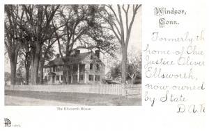 Connecticut  Windsor , The  Ellsworth  House