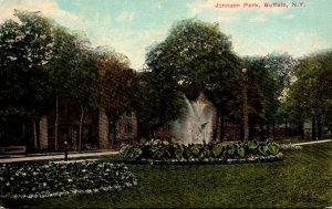 New York Buffalo Scene In Johnson Park