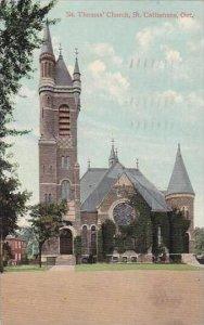 Canada Ontario St Catherines St Thomas' Church 1909