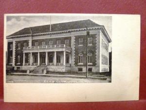 Postcard MO Joplin Elks Club Pre 1908