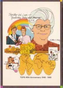 TOPS 40th Annivaersary 1948-1988 Milwaukee Wisconsin