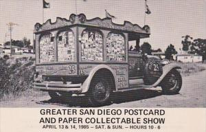 Greater San Diego Postcard and Paper Collectable Show 1985