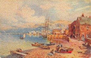 Teignmouth South Devon UK Art c1910s Tuck Oilette Vintage Postcard