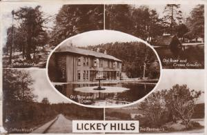RP: LICKEY HILLS , Worcestershire , England , 30-40s 5-view postcard
