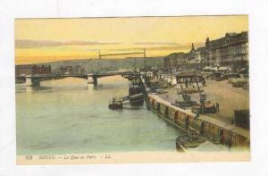 Le Quai De Paris,Rouen (Seine Maritime),France,1900-10s