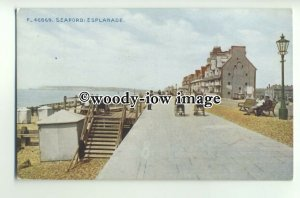 tp9742 - Sussex - Changing Tents &  Boat Jetty on Folkestone Seafront - Postcard