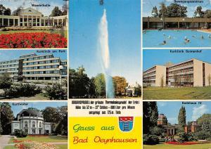 Bad Oeynhausen, Wandelhalle Kurklinik Sonnenhof Badehaus Kurtheater am Park