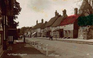 Mayfield High Street Houses Postcard