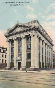 Massachusetts Pittsfield Agricultural National Bank 1911