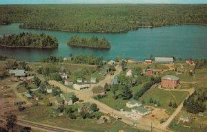 GOODERHAM , Ontario, 50-60s ; Aerial View