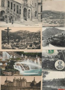 France Dijon, Corte, Chaville, Marseille and more Postcard Lot of 23 01.02