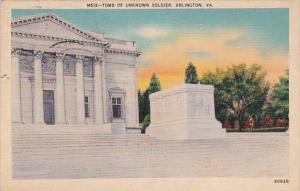 Tomb Of Unknown Soldier Arlington Virginia 1940