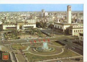 Postal 032661 : Casablanca Fuente luminosa y musical. Plaza de las Naciones U...