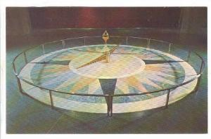 The Foucault Pendulum which demonstrates the rotation of the earth, Washingto...