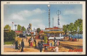 Chicago Worlds Fair 1933-1934 Enchanted Island Chicago Illinois Unused c1933