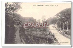 Val Andre Old Postcard Gorge Vauclair
