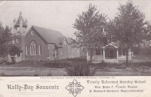 TELFORD , PA, 00-10s ; Trinity Reformed Church & Parsonage, Rally-Day Souvenir