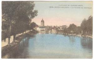 Le Doubs Au Barrage, Pontarlier (Doubs), France, 1900-1910s