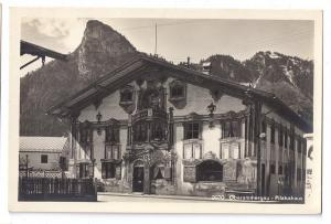 Oberammergau Germany Pilatushaus RPPC Real Photo 1930s
