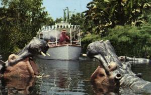 Disneyland, Anaheim Cal., Adventureland, Jungle Cruise, Elephant Bathing Pool 2