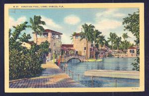 Venetian Pool Coral Gables Florida used c1939