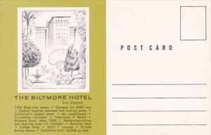 The Biltmore Hotel los Angeles