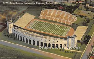 Dyche Stadium, Northwestern University Evanston, Illinois, IL, USA Unused